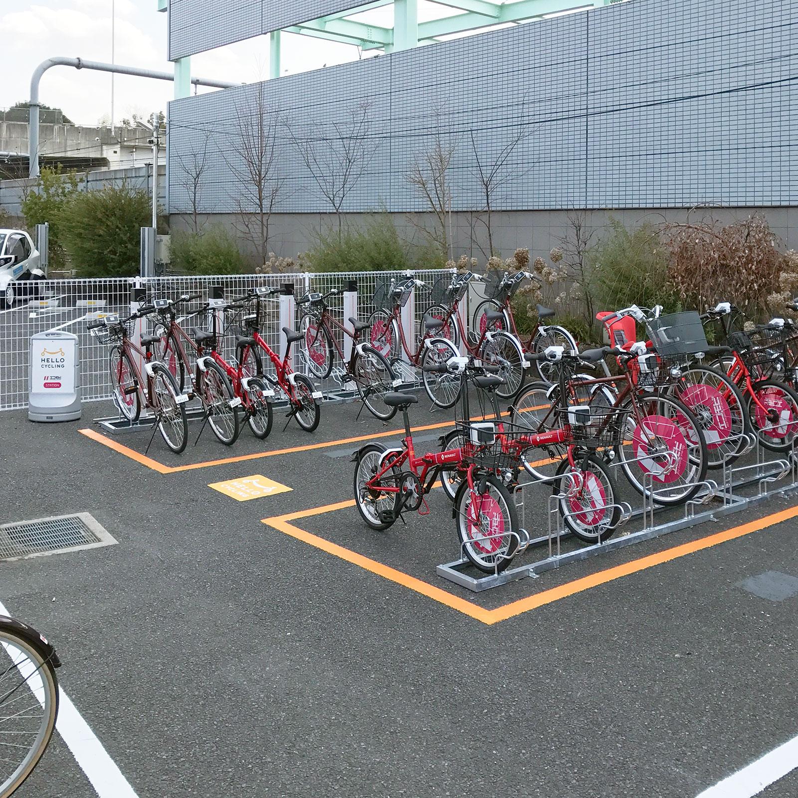 浦和美園駅東口(みそのモビリティポート内) (HELLO CYCLING ポート) image