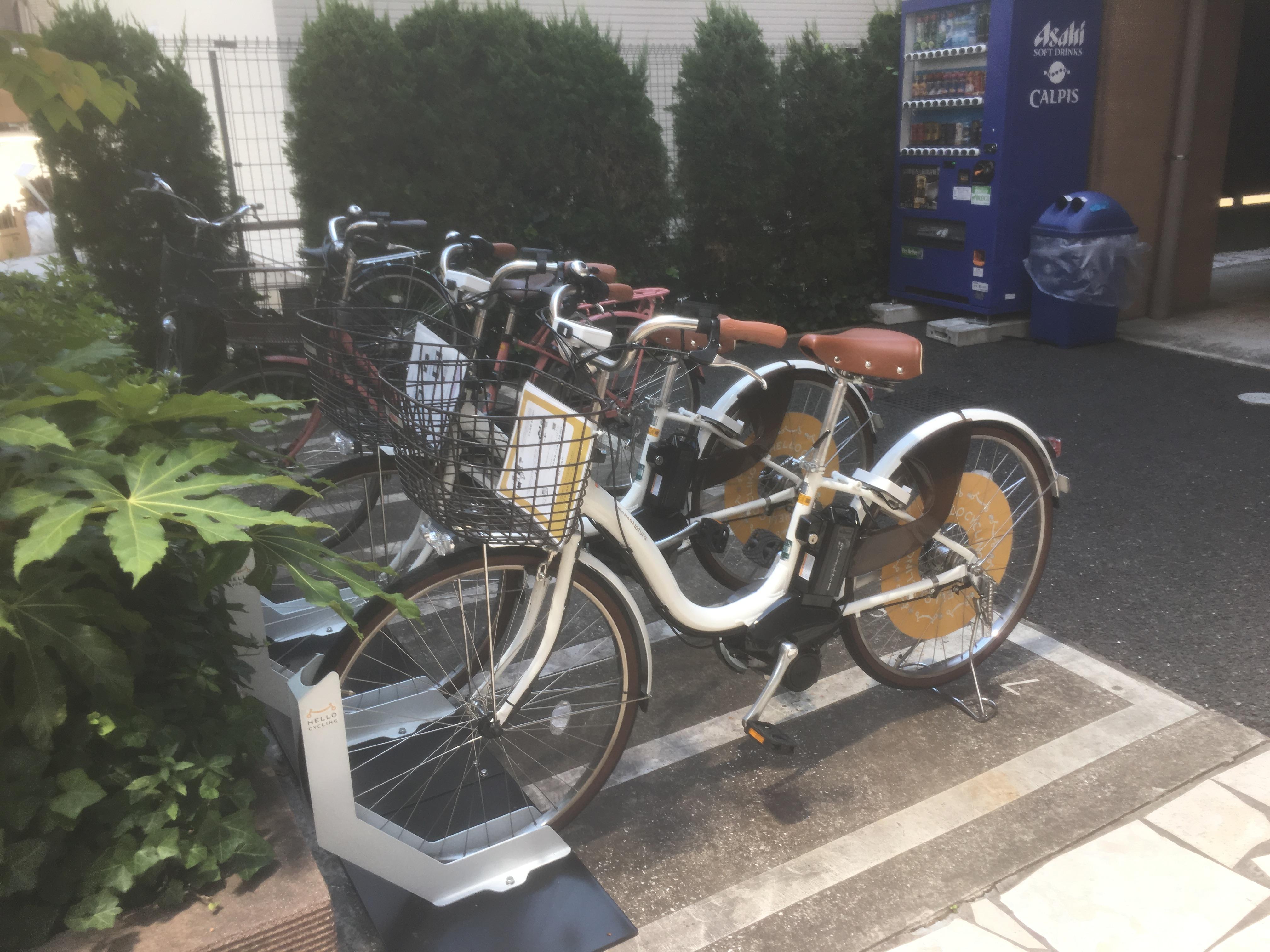 バイクパーク上目黒1丁目 (HELLO CYCLING ポート) image