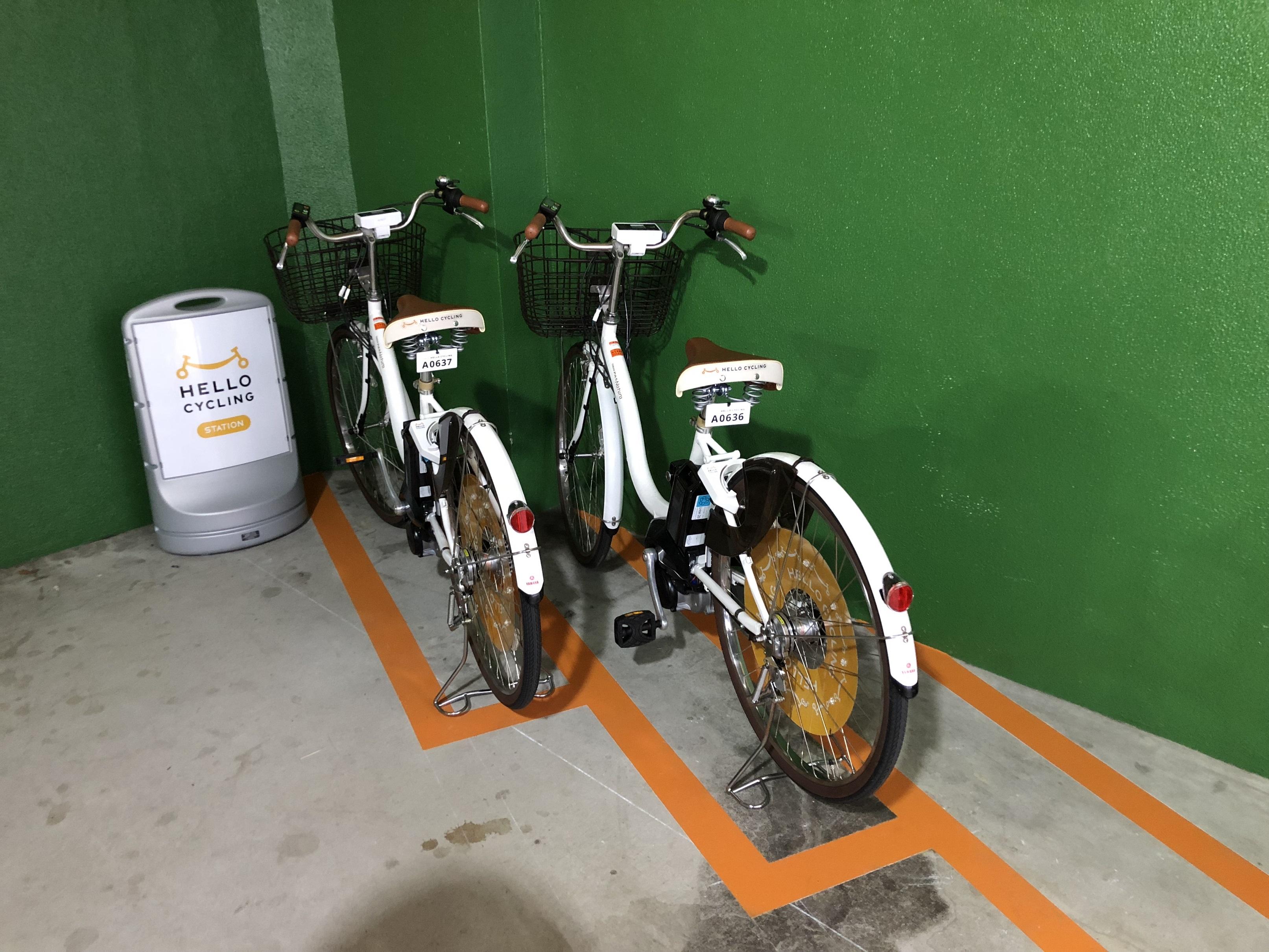 阪神尼崎駅西 アマスタアマセン高架下駐輪場 (HELLO CYCLING ポート) image