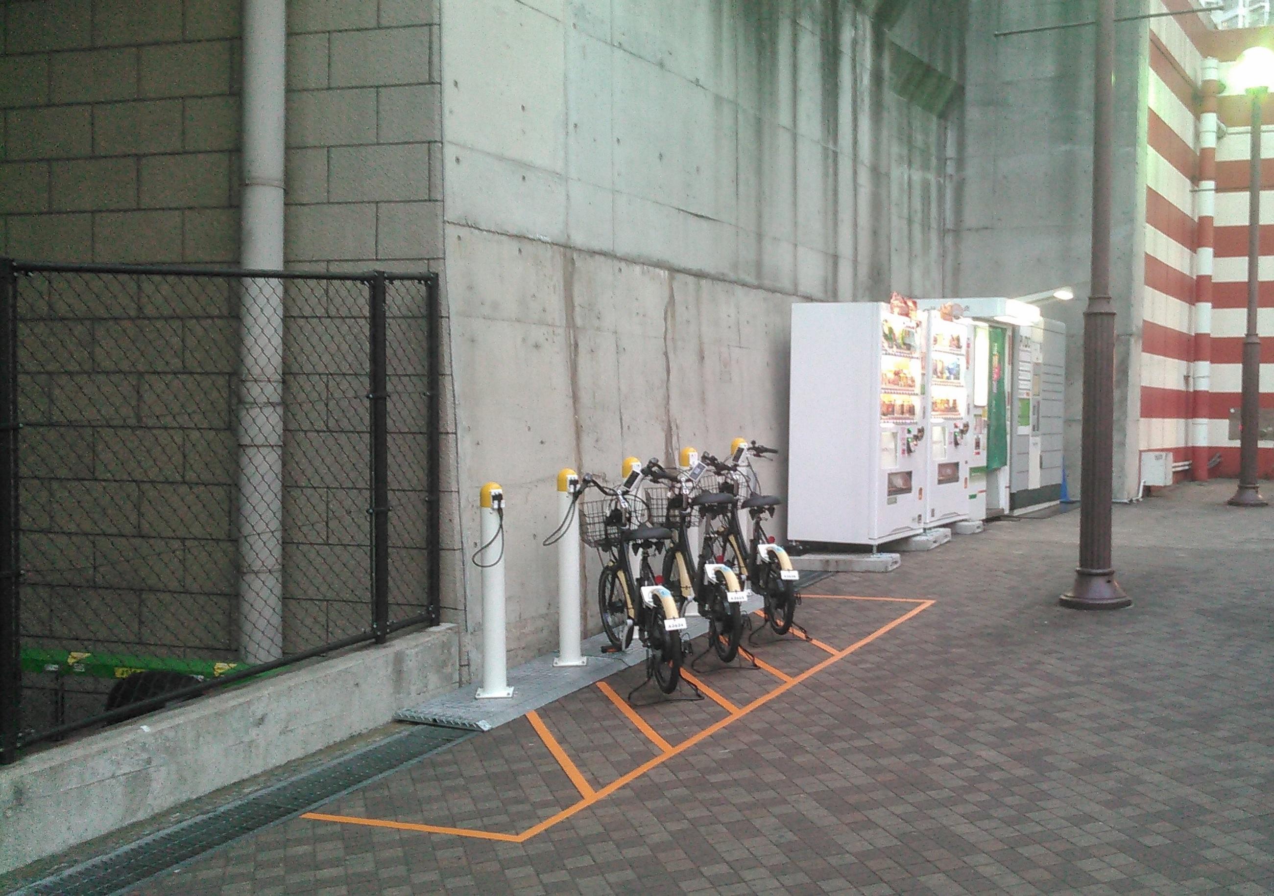 【ベルシェア】横須賀モアーズシティ (HELLO CYCLING ポート) image