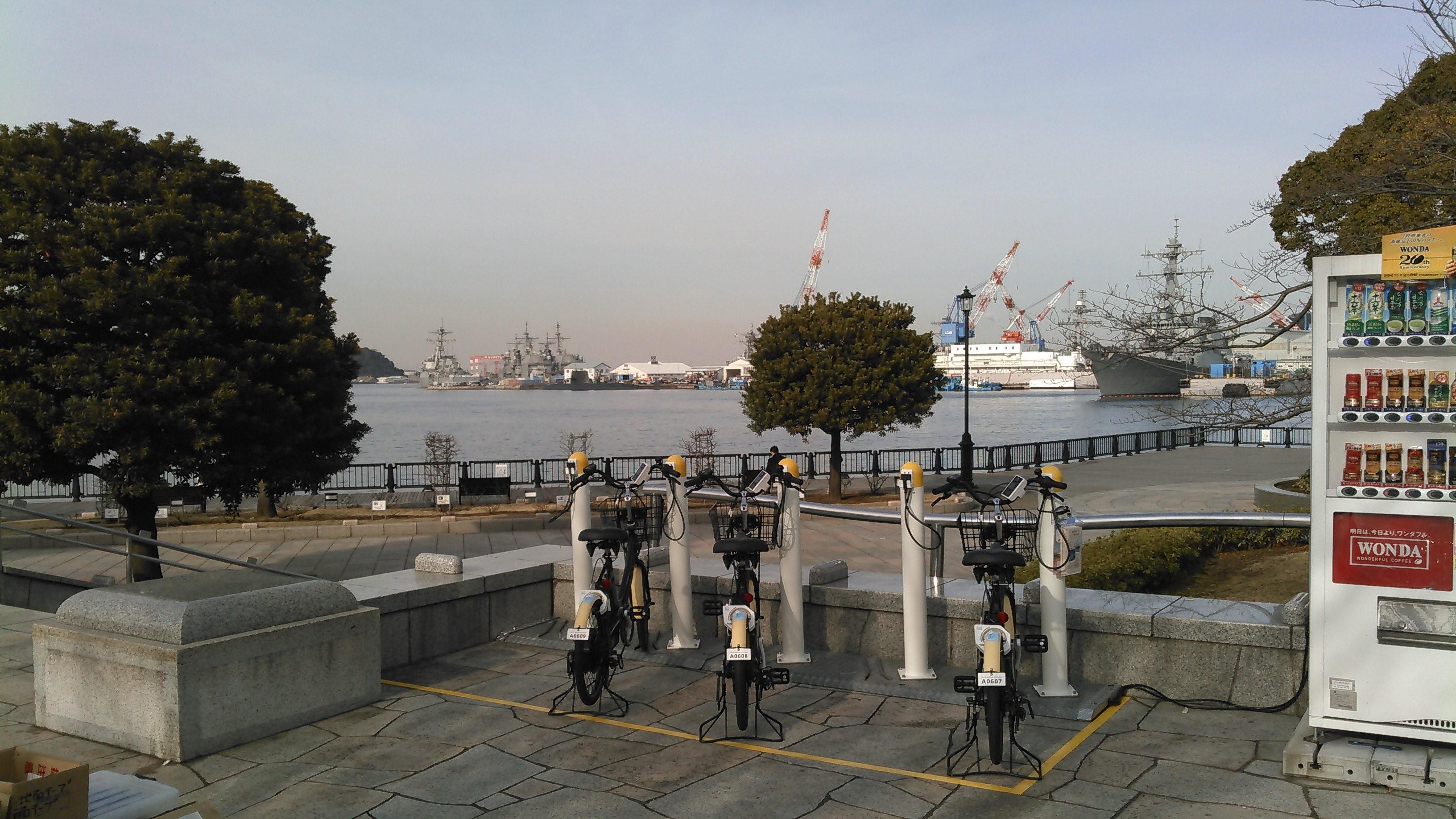 【ベルシェア】横須賀 ヴェルニー公園 (HELLO CYCLING ポート) image