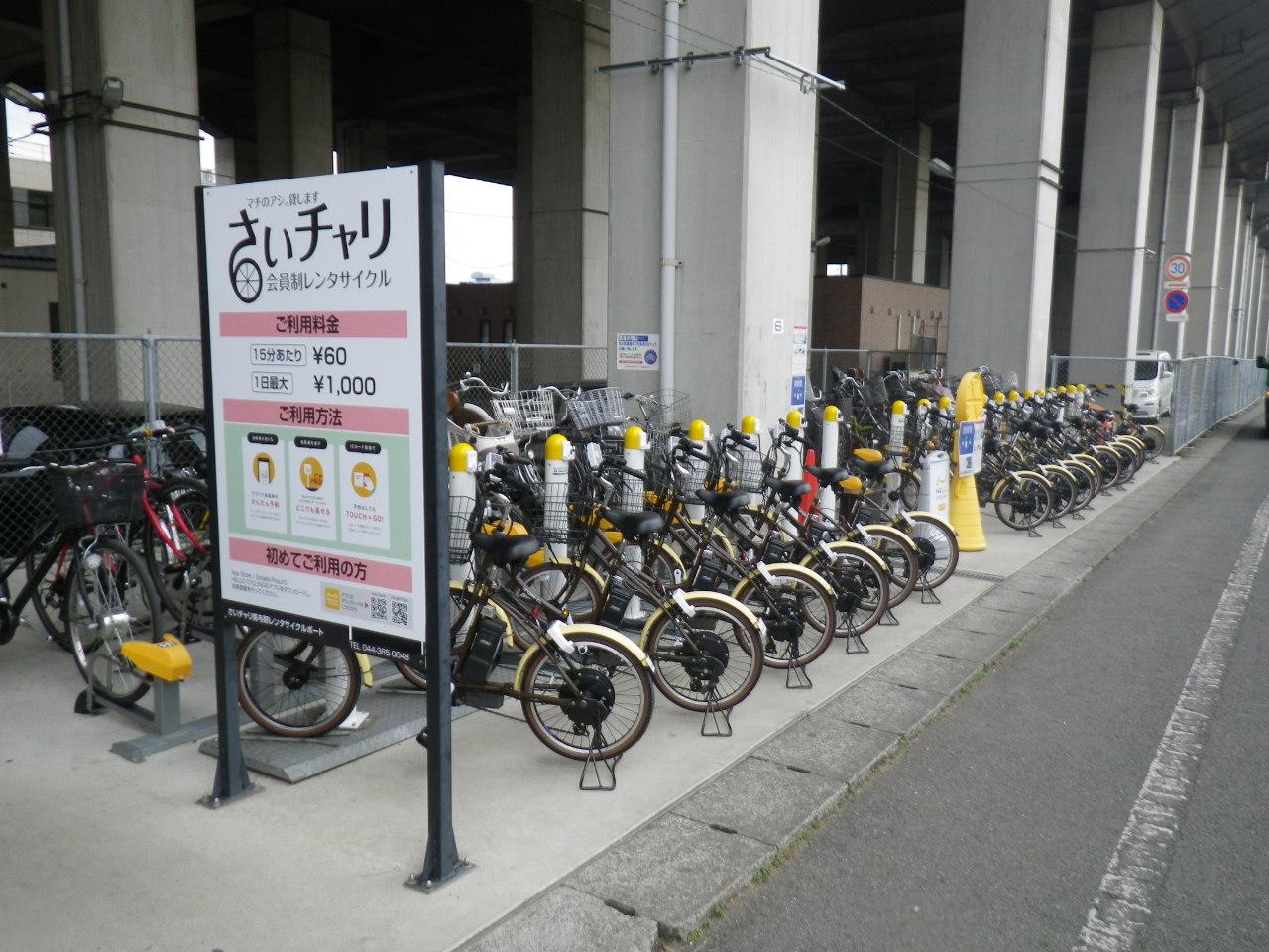 【さいチャリ】南与野駅 (HELLO CYCLING ポート) image