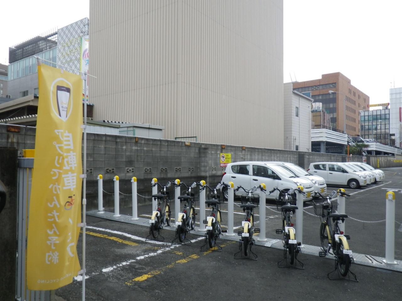 【ベルシェア】みずほ銀行 浦和支店 駐車場内 (HELLO CYCLING ポート) image
