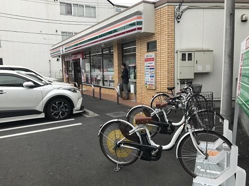 セブンイレブン 横浜綱島東6丁目店 (HELLO CYCLING ポート) image