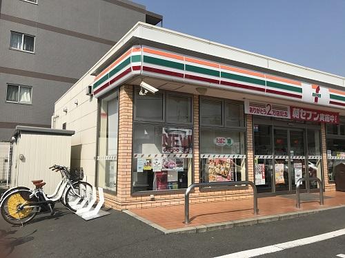 セブンイレブン 川崎下小田中1丁目店 (HELLO CYCLING ポート) image