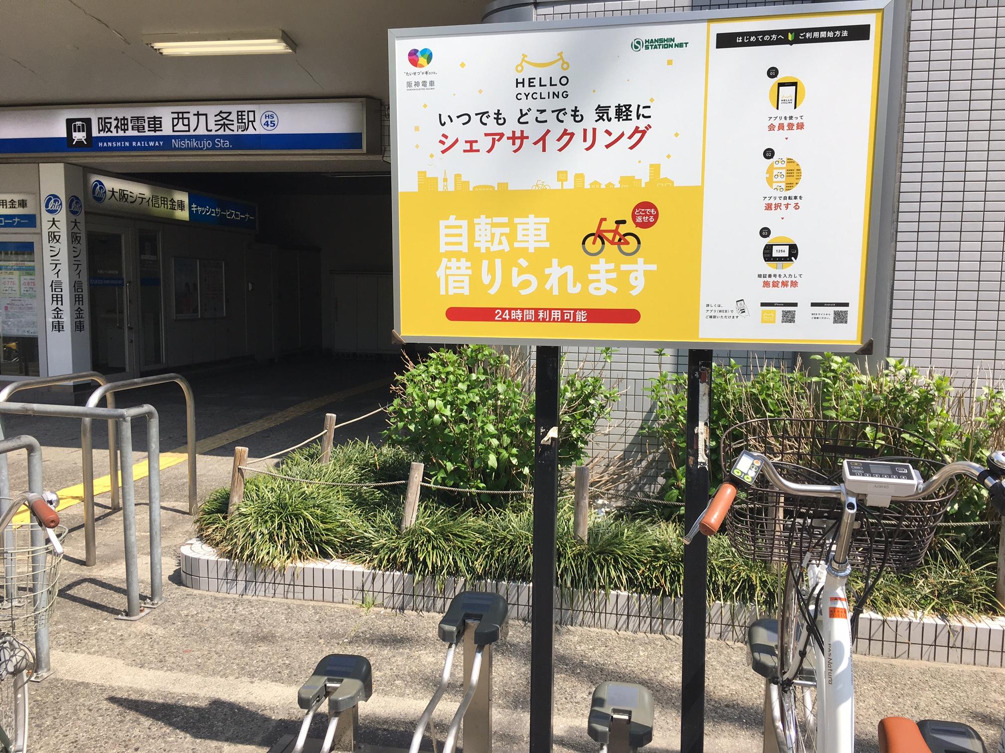 阪神西九条駅東棟B駐輪場 (HELLO CYCLING ポート) image