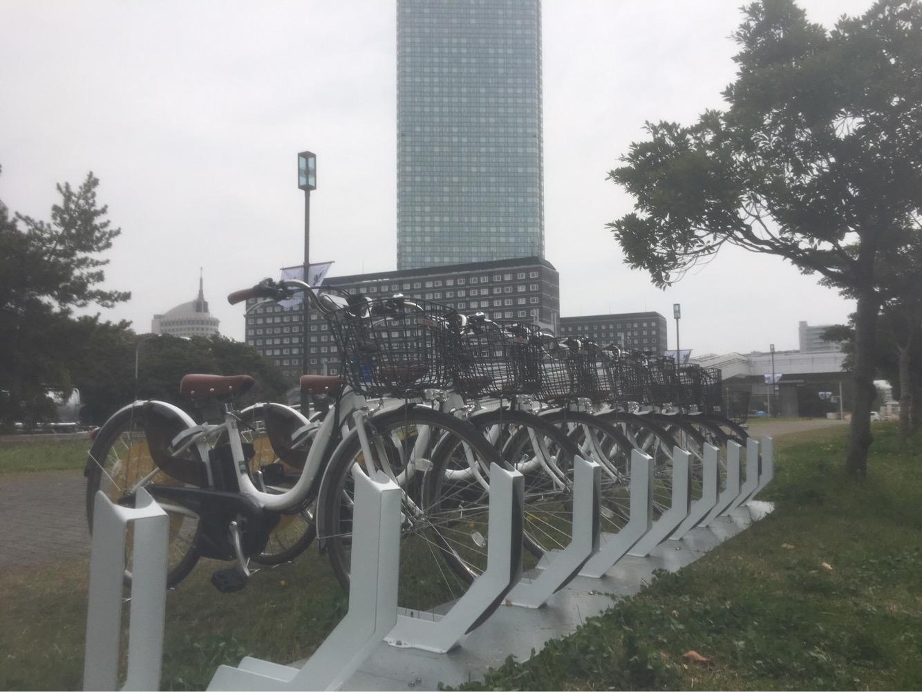 千葉臨海線第1緑地 ZOZOマリンスタジアム前 (HELLO CYCLING ポート) image