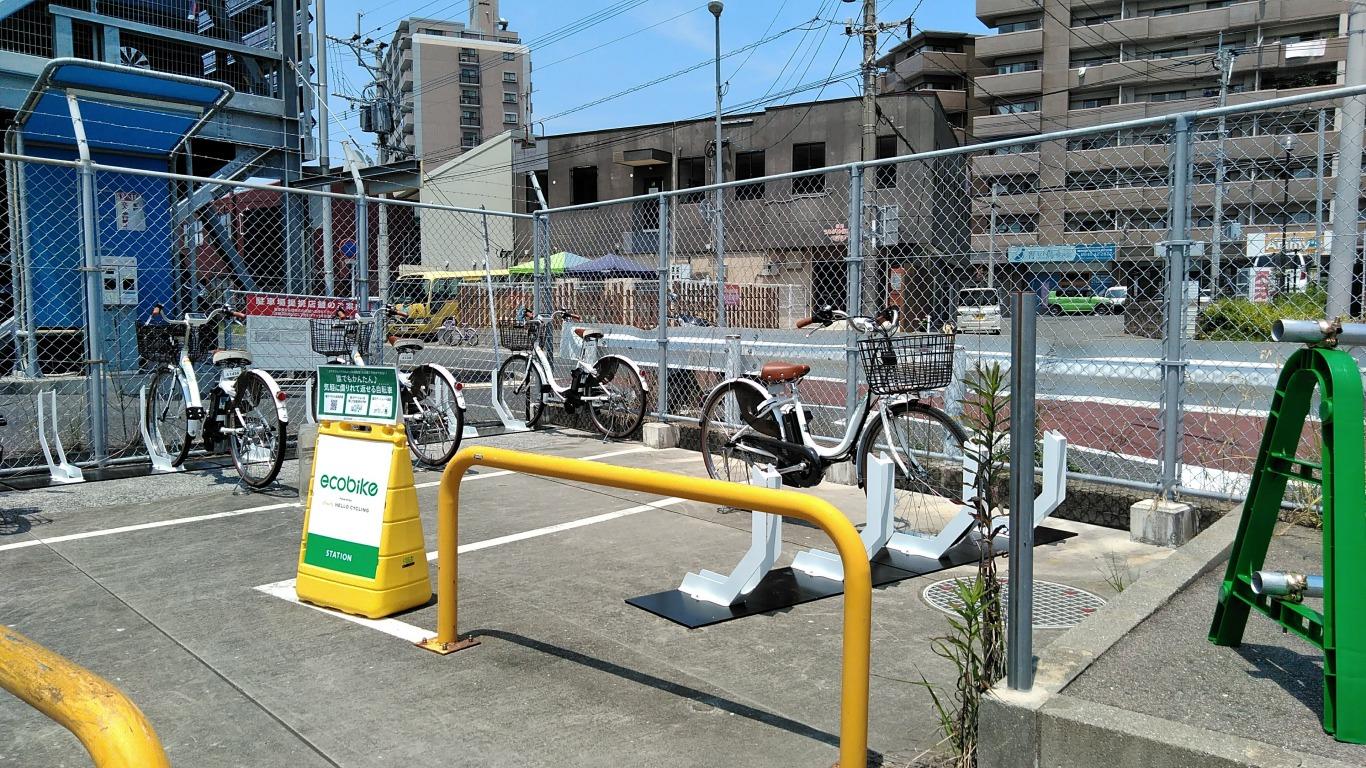 福間駅1号駐輪場場外 (HELLO CYCLING ポート) image