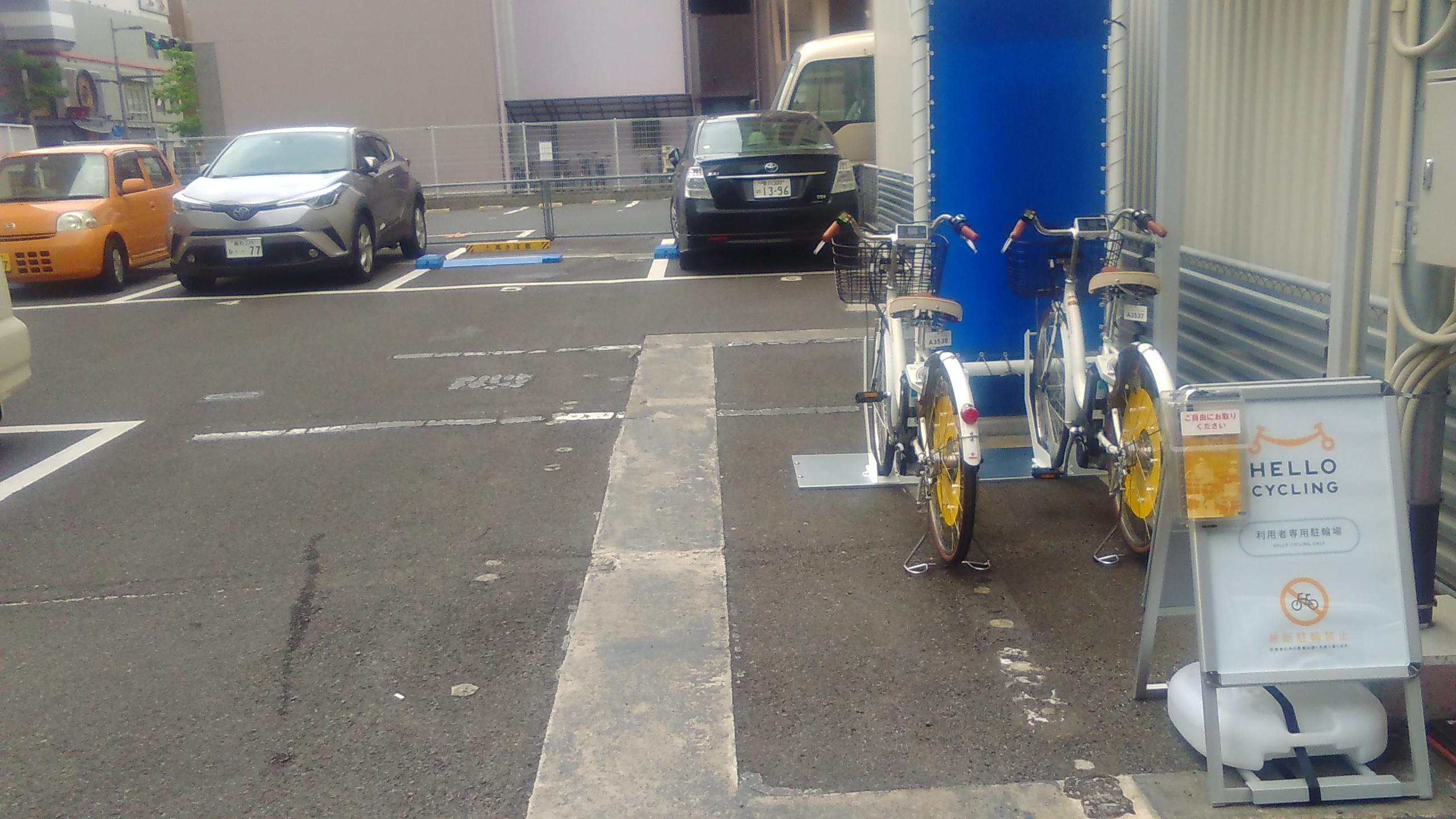 あなぶき百間町第3パーキング (HELLO CYCLING ポート) image