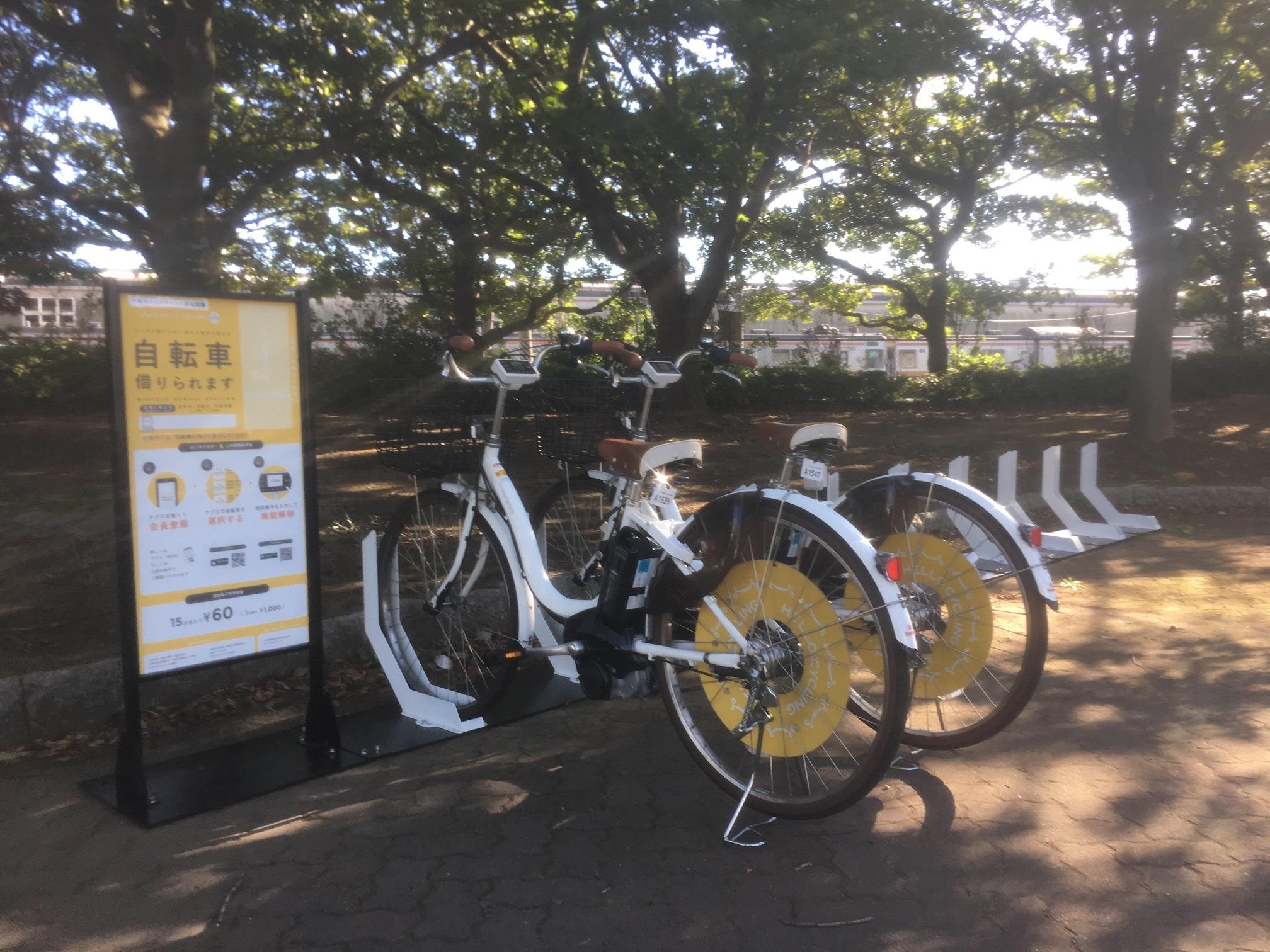 浜田2丁目緑地 千葉県運転免許センター入口 (HELLO CYCLING ポート) image