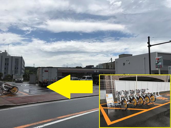 セブンイレブン 横浜戸塚矢部店 (HELLO CYCLING ポート) image