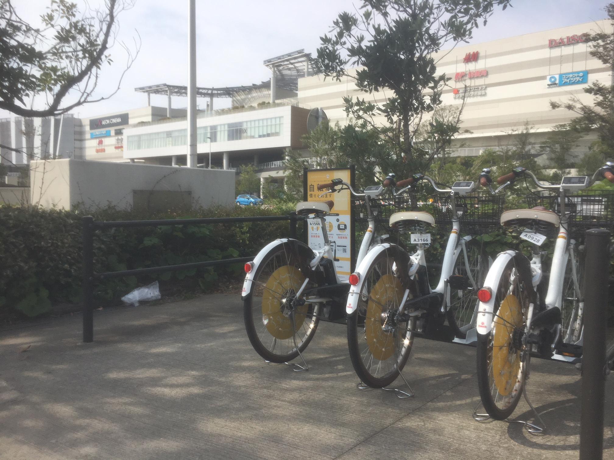 イオンモール幕張新都心 グランドモール南 (HELLO CYCLING ポート) image