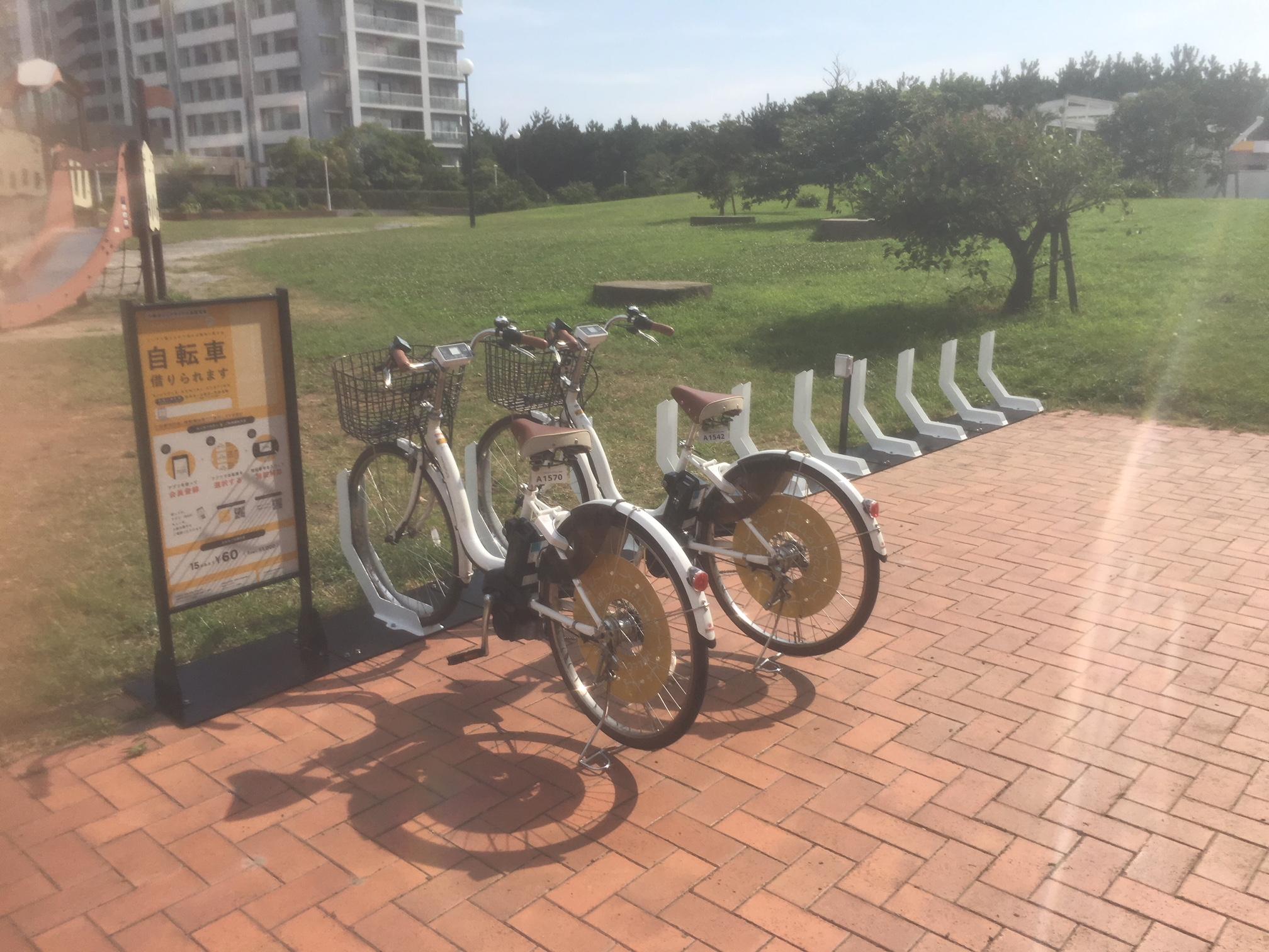 幕張ベイタウン 打瀬第3公園 (HELLO CYCLING ポート) image
