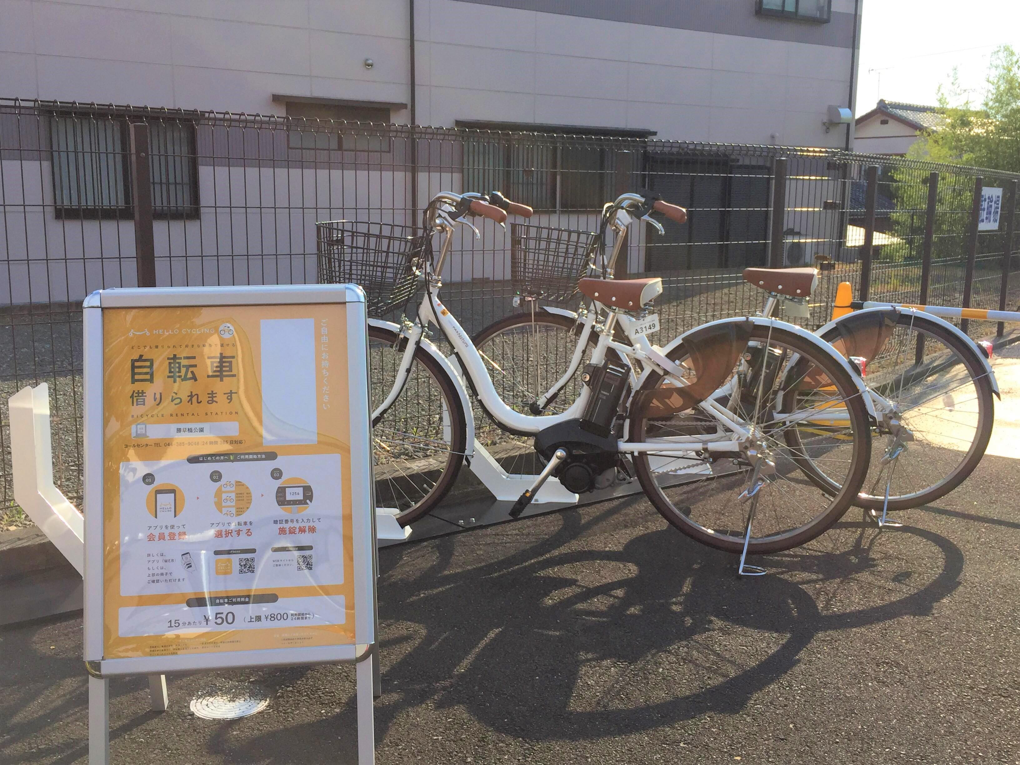 勝草橋公園 (HELLO CYCLING ポート) image