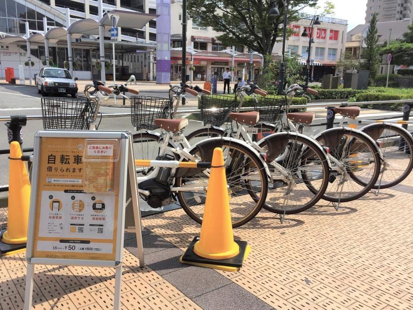 藤枝駅北口(静岡銀行前) (HELLO CYCLING ポート) image