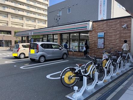 セブンイレブン 福岡千早東駅前店 (HELLO CYCLING ポート) image