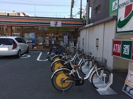 セブンイレブン 福岡高宮1丁目店 (HELLO CYCLING ポート) image