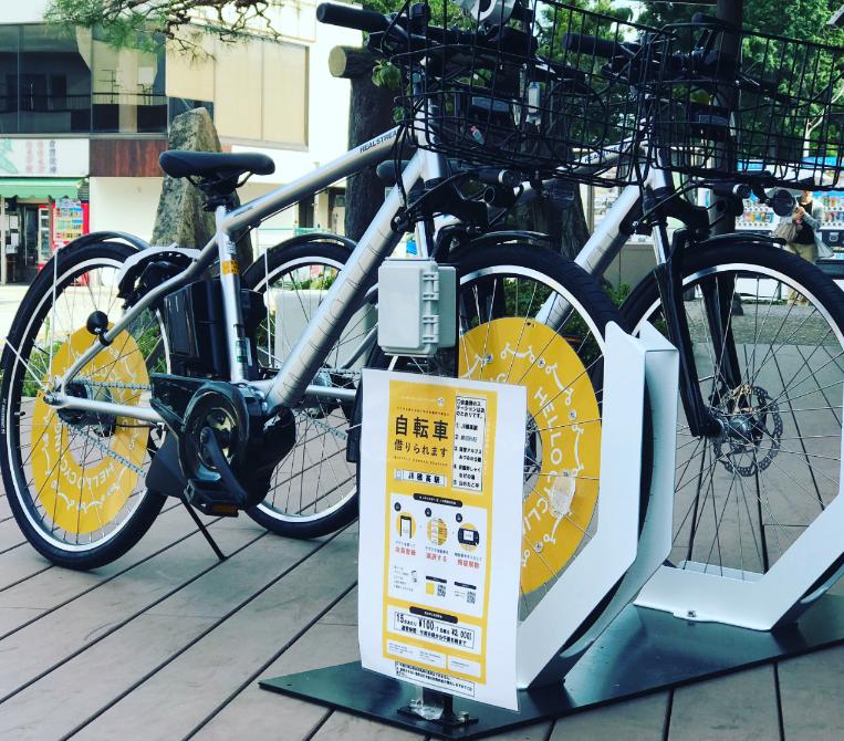 JR穂高駅前 (HELLO CYCLING ポート) image