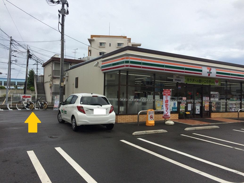 セブンイレブン 福岡鳥飼7丁目店 (HELLO CYCLING ポート) image