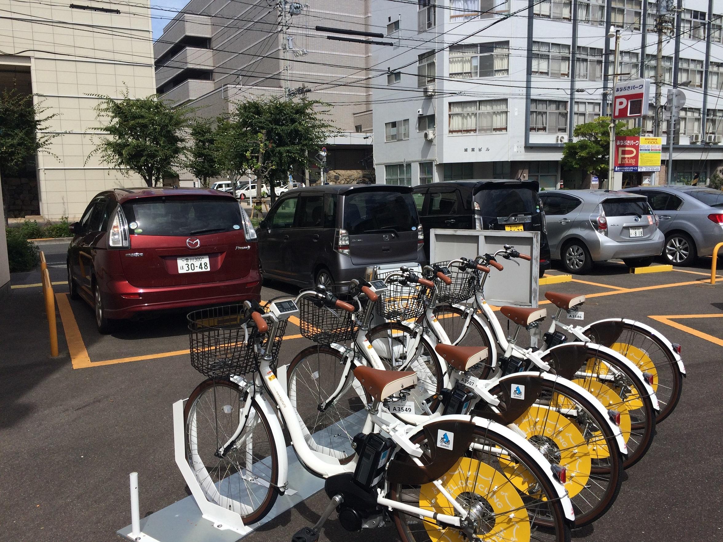 香川県立ミュージアム前(あなぶき本町第2パーキング) (HELLO CYCLING ポート) image