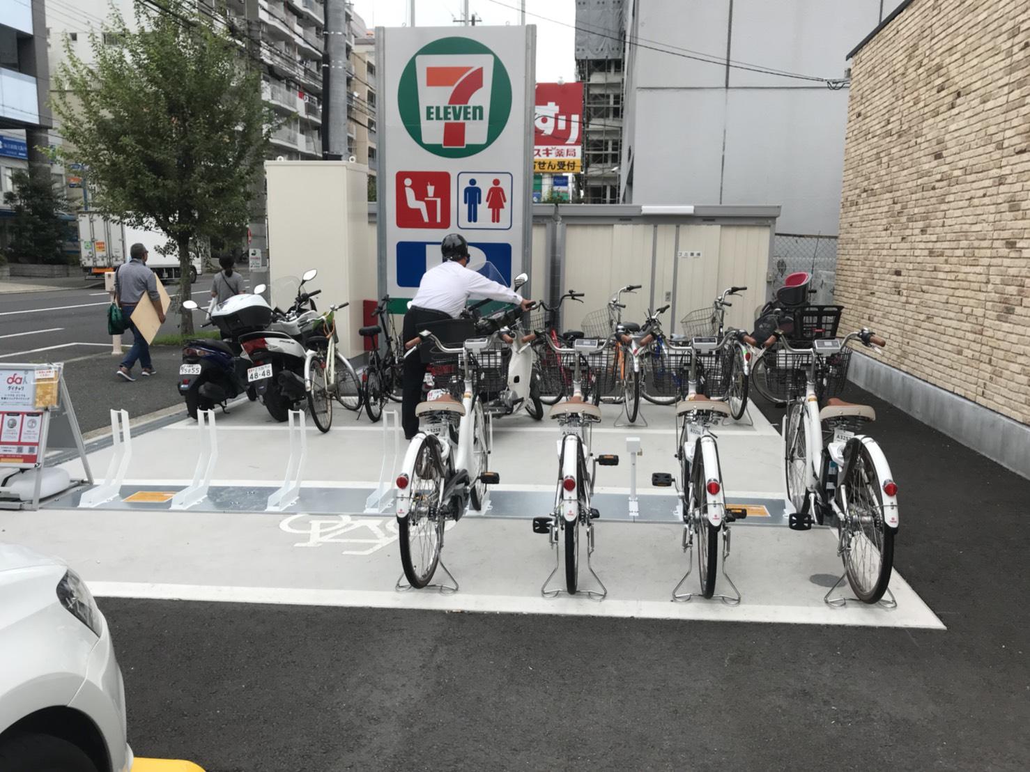 セブンイレブン 大阪宮原4丁目店 (HELLO CYCLING ポート) image