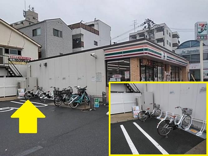 セブンイレブン 阪急下新庄駅前店 (HELLO CYCLING ポート) image