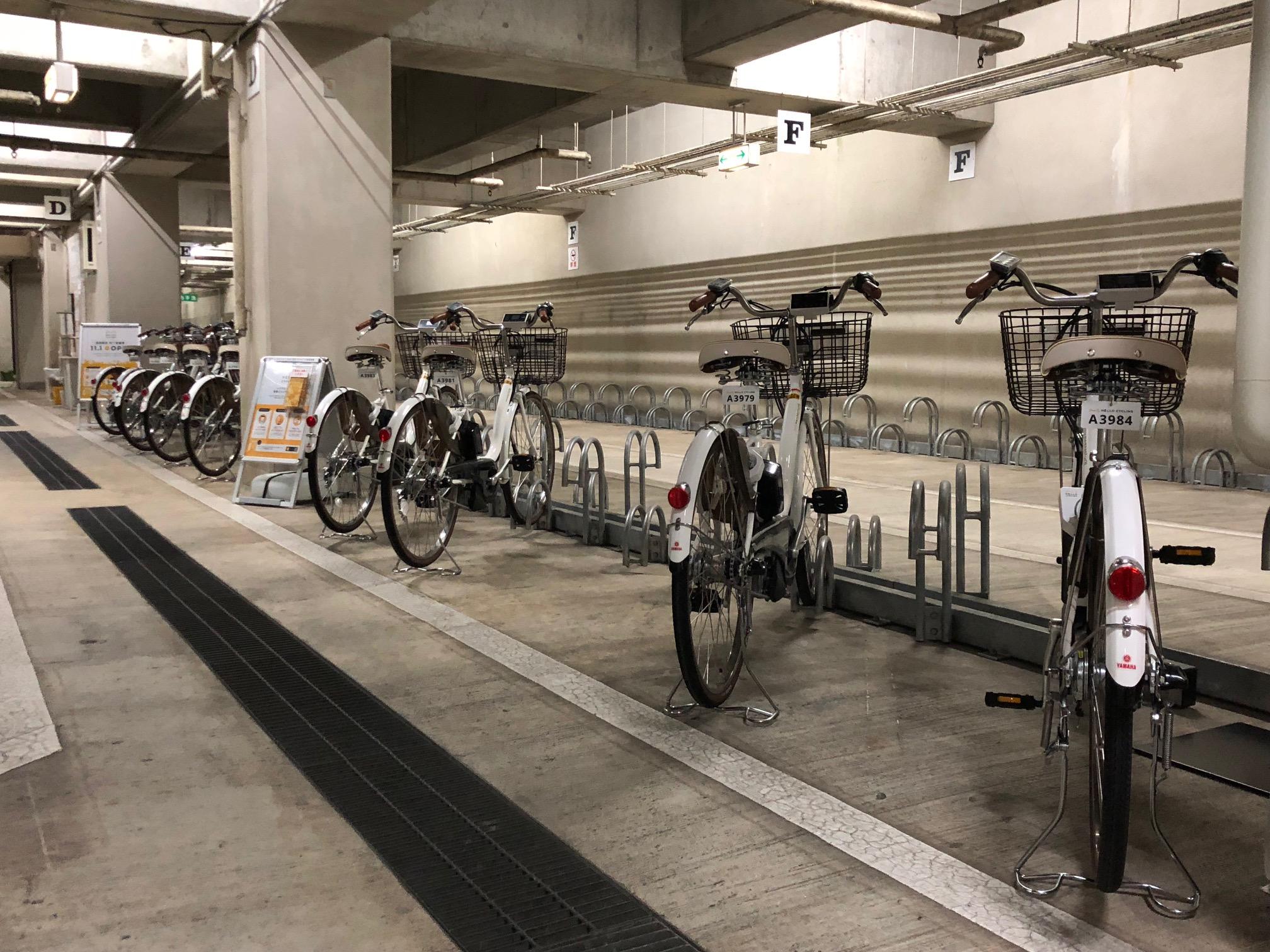 盛岡駅前地下駐輪場 (HELLO CYCLING ポート) image