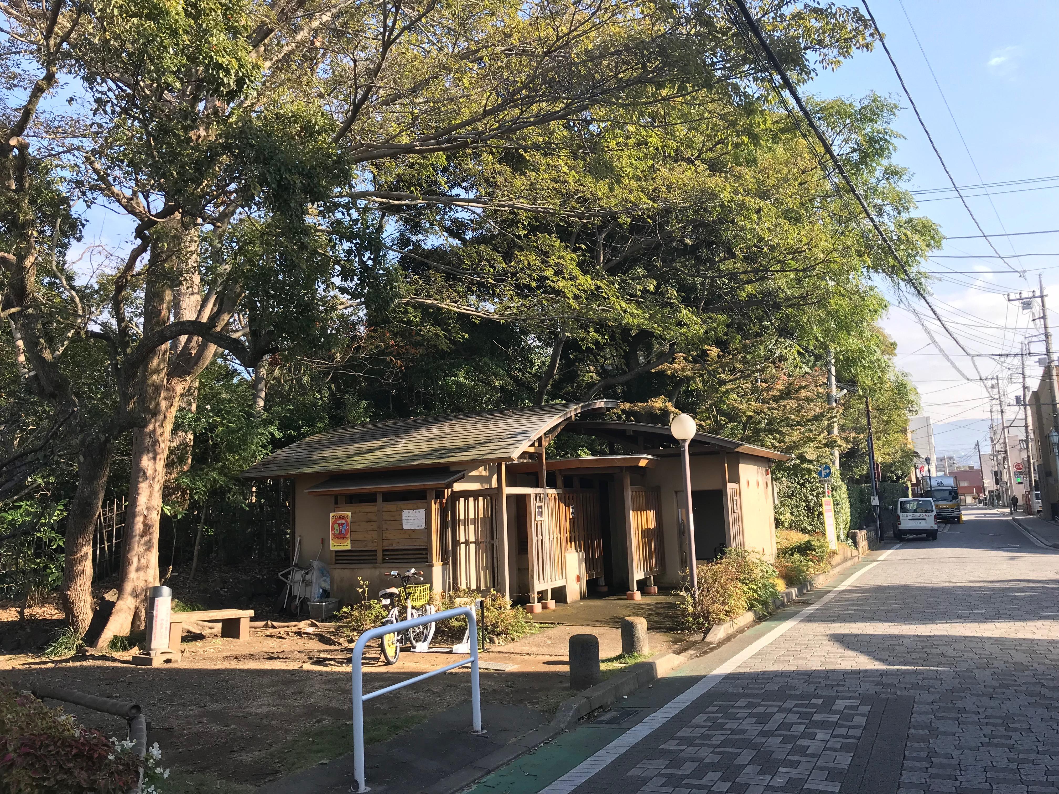 楽寿園南口トイレ付近 (HELLO CYCLING ポート) image