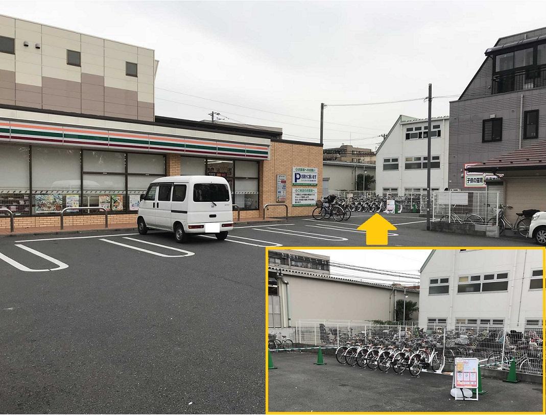 セブンイレブン 武蔵野台駅南口店 (HELLO CYCLING ポート) image