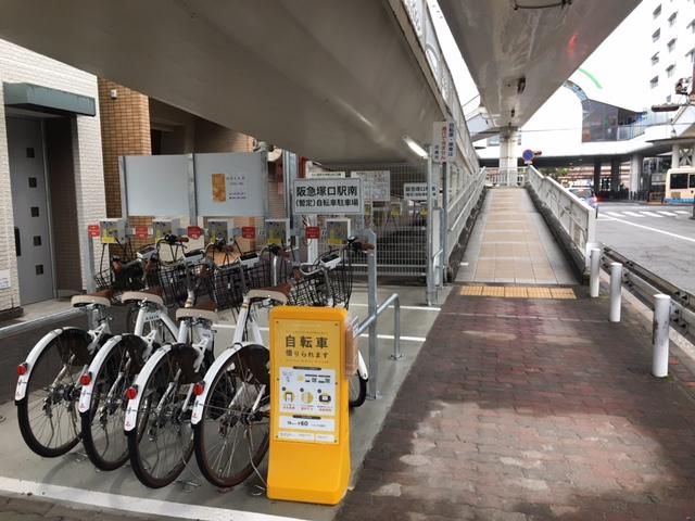 阪急塚口駅南暫定自転車駐車場 (HELLO CYCLING ポート) image