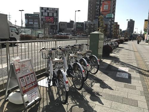 朝霞駅南口駅前広場 (HELLO CYCLING ポート) image