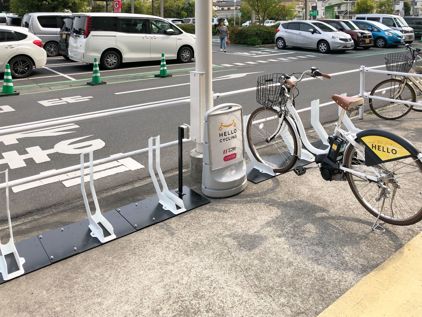イオンモール浦和美園(南) (HELLO CYCLING ポート) image