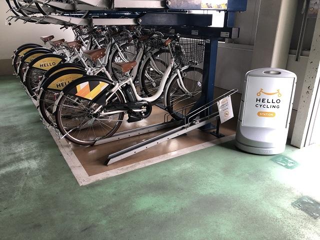松本駅北自転車駐車場 (HELLO CYCLING ポート) image
