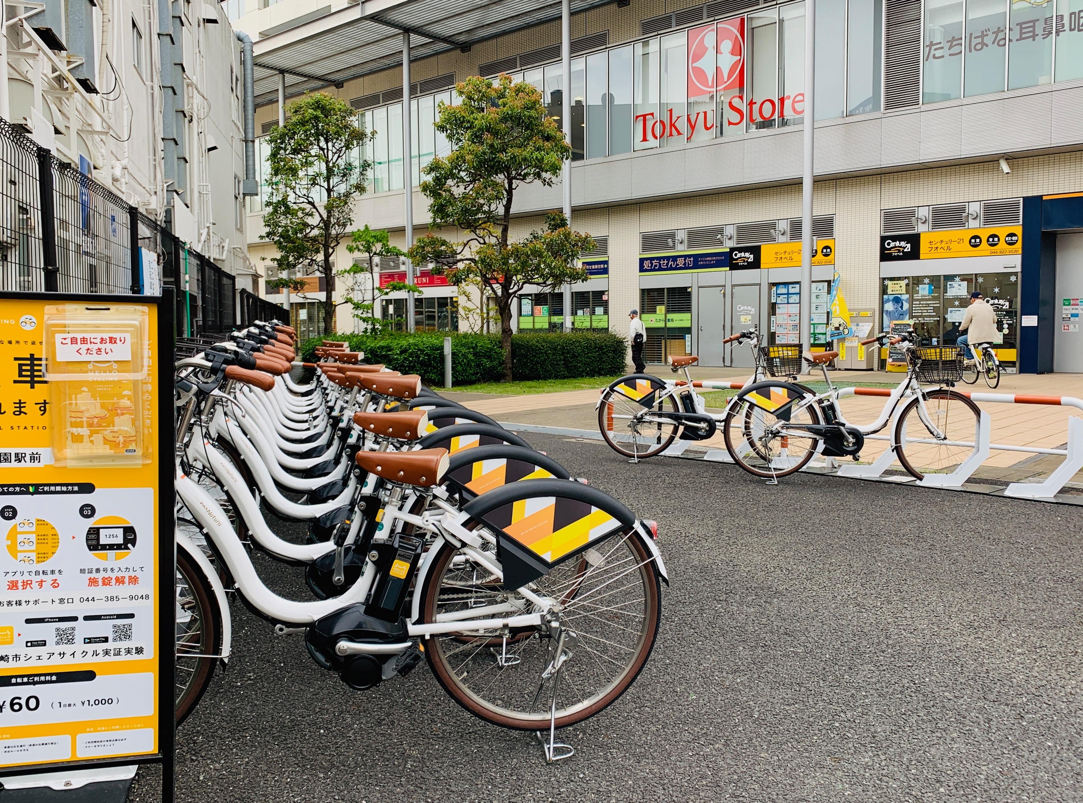 向ヶ丘遊園駅前 (HELLO CYCLING ポート) image