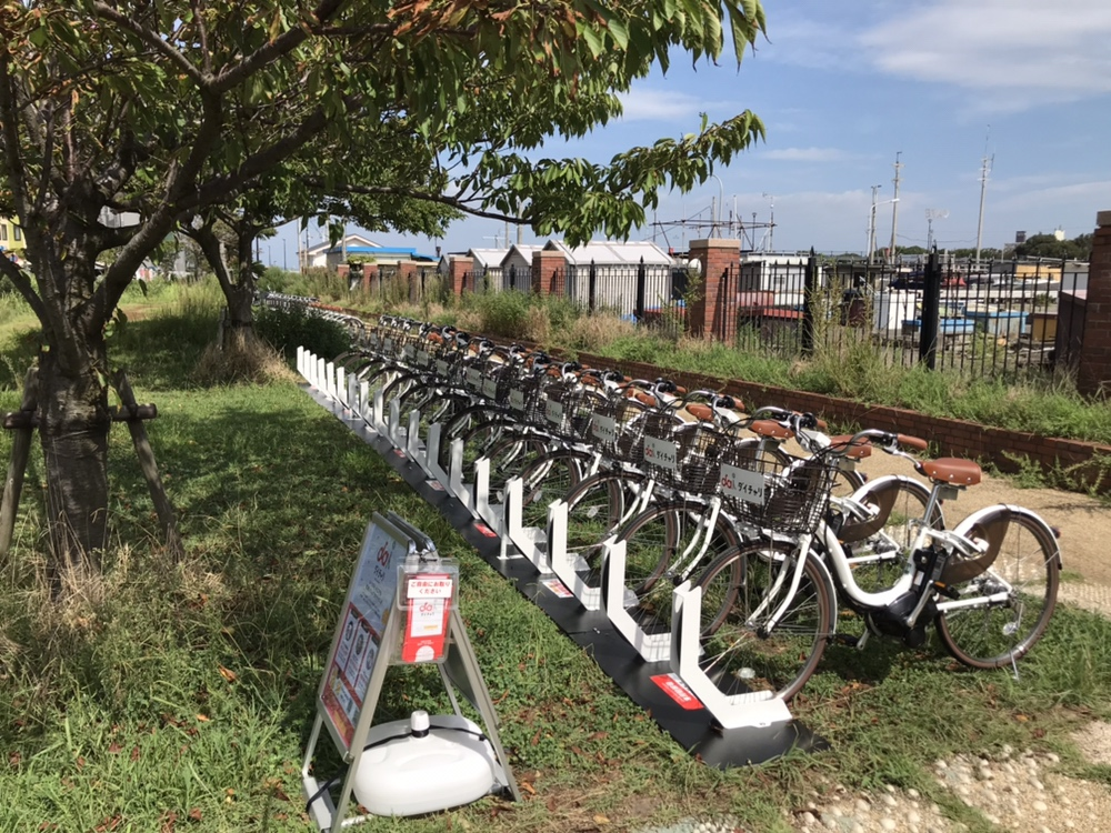 江の島西緑地駐輪スペース (HELLO CYCLING ポート) image
