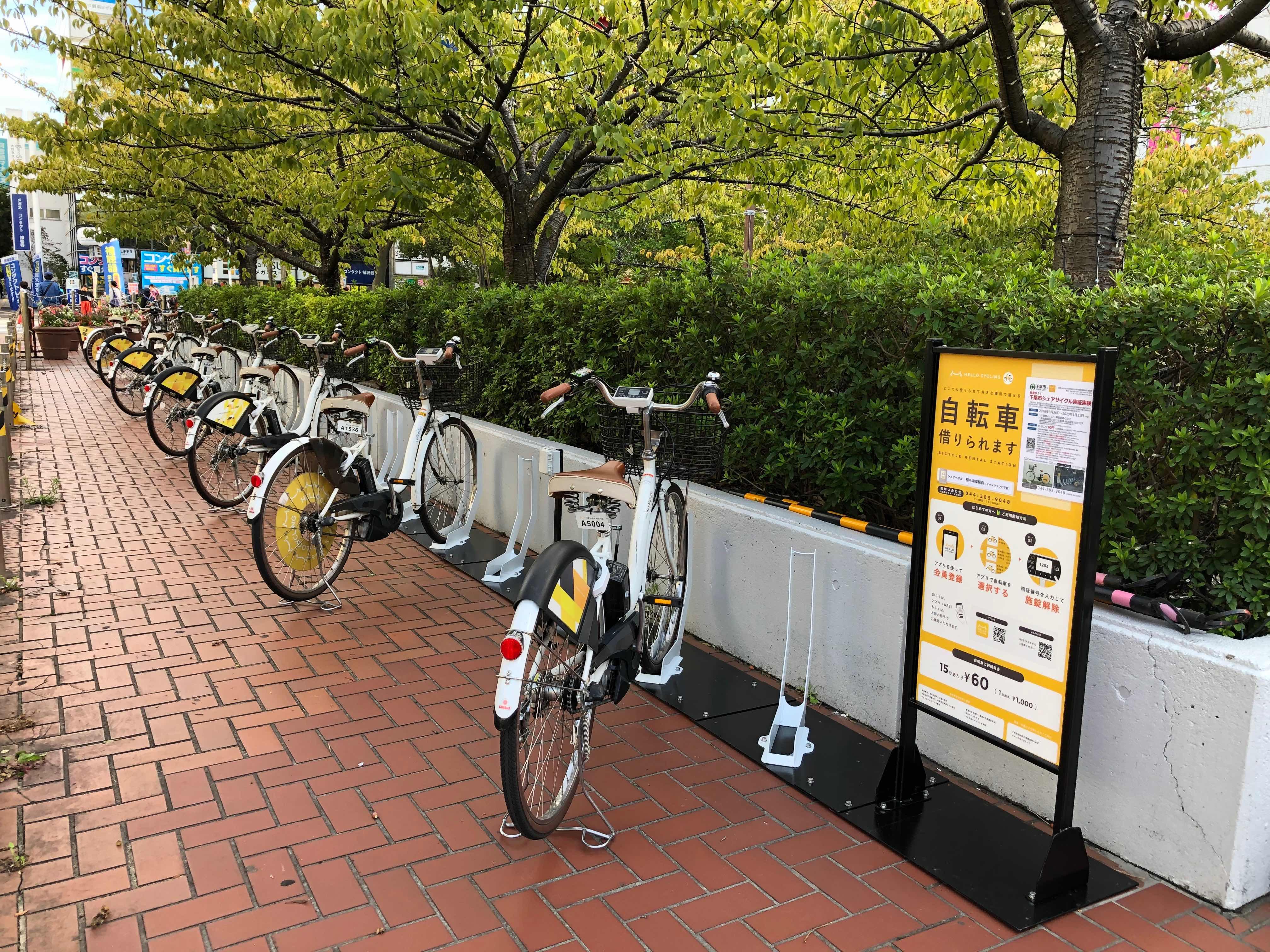 稲毛海岸駅前(イオンマリンピア店) (HELLO CYCLING ポート) image