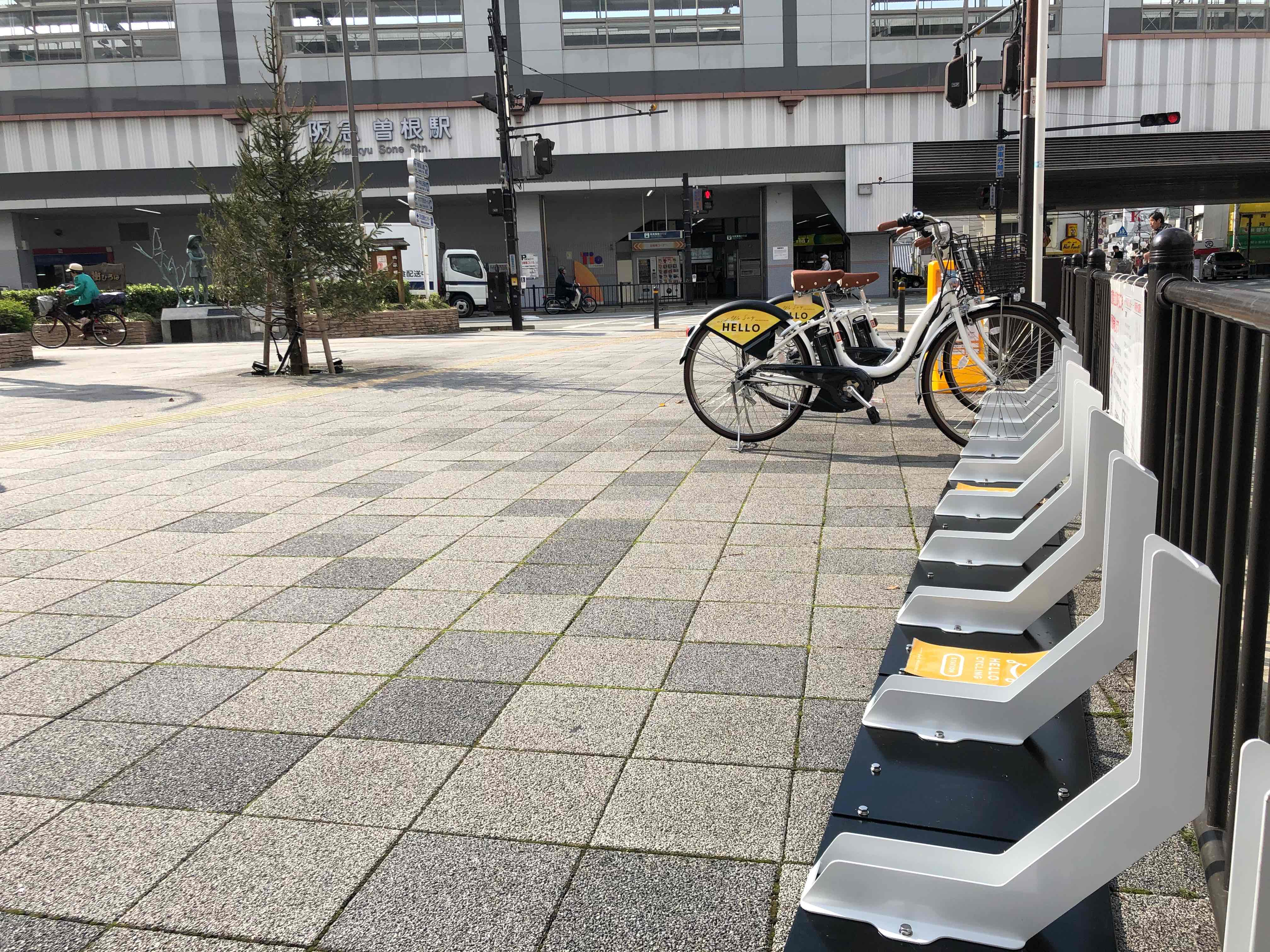 阪急曽根駅東 (HELLO CYCLING ポート)の画像1