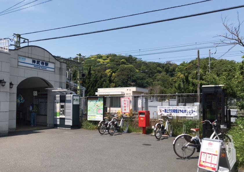 神武寺駅前駐輪場 (HELLO CYCLING ポート) image