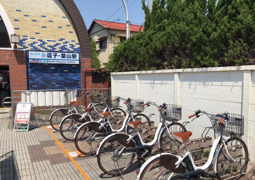 逗子・葉山駅前駐輪場 (HELLO CYCLING ポート) image
