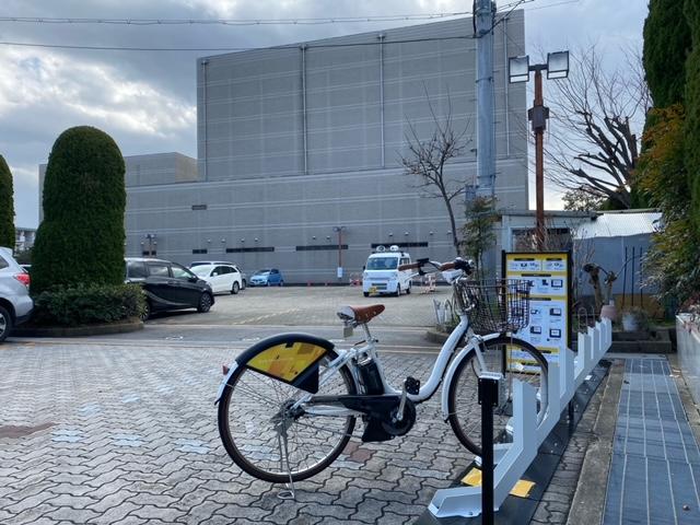 長岡京市中央公民館 (HELLO CYCLING ポート) image