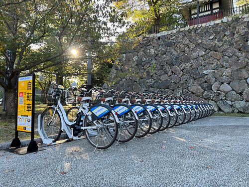 小倉城 大手門横 (HELLO CYCLING ポート) image