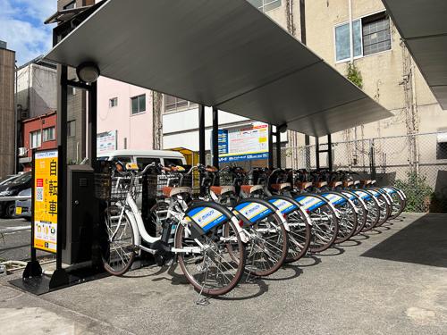 京町三丁目(博労町筋) (HELLO CYCLING ポート) image