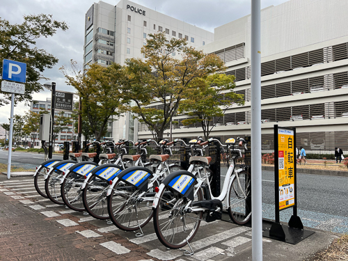 松本清張記念館横 (HELLO CYCLING ポート) image